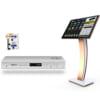 Đầu VietKTV HD Pro 4TB va Man 22 inch