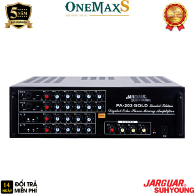 amply jarguar pa 203 gold limited edition