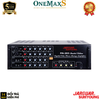 amply jarguar pa 203 limited edition