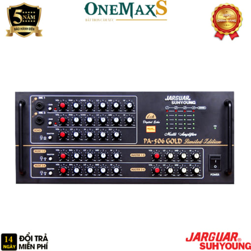 amply jarguar pa 506 gold limited edition